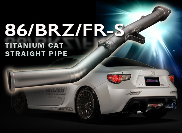 BRZ ZC6 6MT EXPREME Ti TITANIUM CAT STRAIGHT PIPE