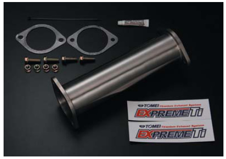 SILVIA S13 EXPREME Ti Titanium CAT Str. Pipe