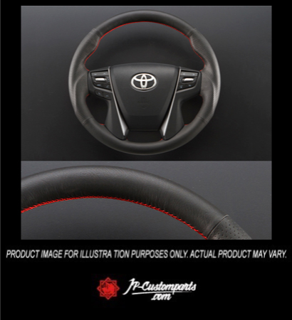PADDLE SHIFT STEERING SET / ALL LEATHER