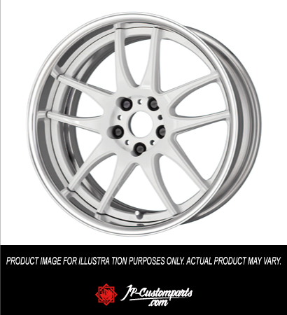 WORK EMOTION CR 2P / STEP RIM SEMI CONCAVE / 19