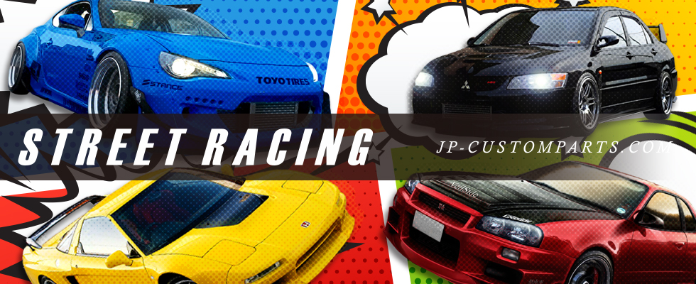Street racing JP-CUSTOMPARTS.COM